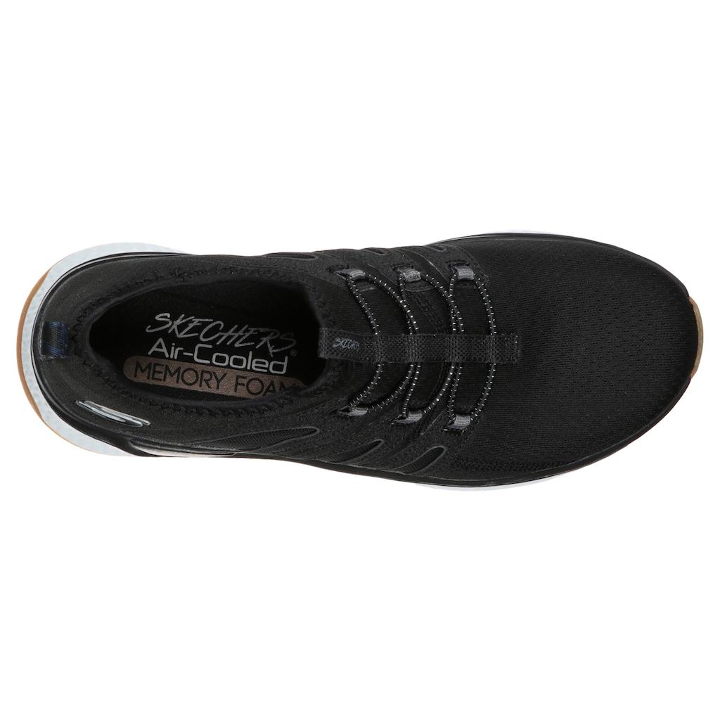 Skechers Slip-On Sneaker »SOLAR FUSE - ELECTRIC PULSE«, mit praktischen Anziehlaschen