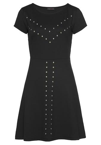 Melrose Minikleid, mit dekorativen Nieten - NEUE KOLLEKTION kaufen