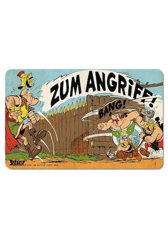 LOGOSHIRT Frühstücksbrettchen mit Asterix & Obelix-Motiv kaufen