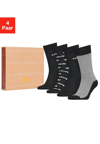 Levi's® Socken, (Box, 4 Paar), in edler Geschenkbox kaufen