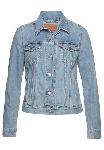 Levi's® Jeansjacke »Original Trucker«, Klassischer Schnitt kaufen