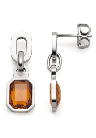 LEONARDO Paar Ohrstecker »Ohrstecker Candela, 018394«, mit Glasstein kaufen