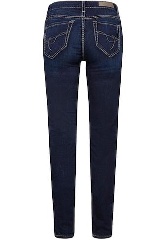 SOCCX Skinny-fit-Jeans, mit kontrastfarbenen Nähten kaufen