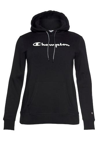 Champion Kapuzensweatshirt »HOODED SWEATSHIRT PLUS SIZE«, In großen Größen kaufen