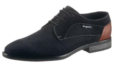 bugatti Schnürschuh »Levio«, mit allover Strukturierung kaufen