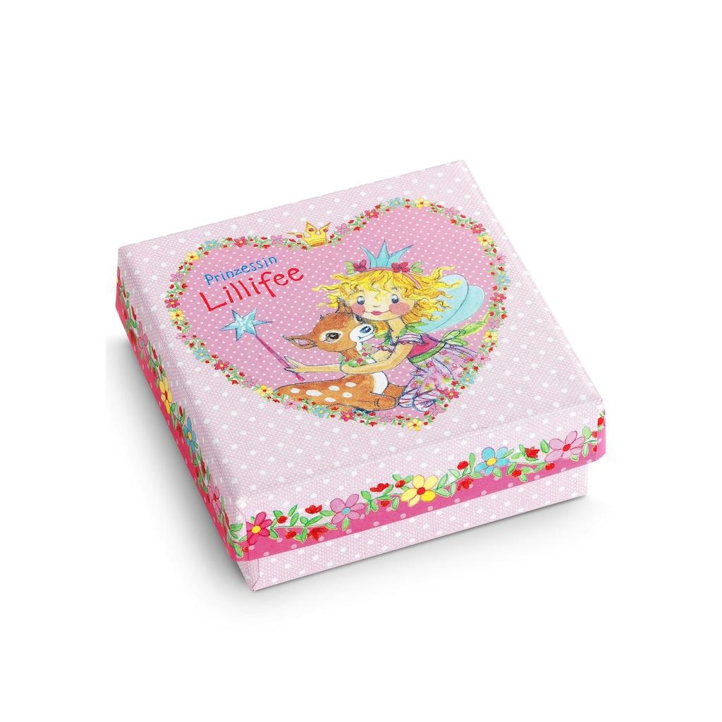 Prinzessin Lillifee Paar Creolen »Herzen, 9049219«, mit Emaille