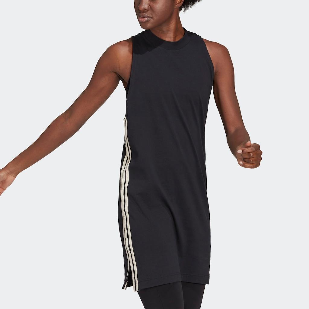 adidas Performance Minikleid »ADIDAS SPORTSWEAR RECYCLED COTTON TANK KLEID«