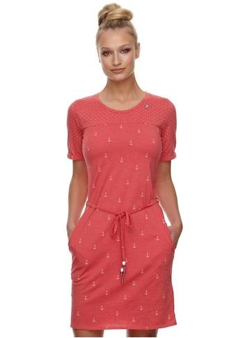 """Ragwear Jerseykleid »TAG MARINA«, (2 tlg.), mit maritimen Allover """"Anker""""-Druck kaufen"""