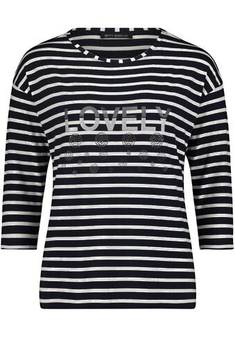 Betty Barclay Rundhalsshirt, mit Streifen kaufen
