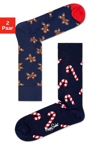 Happy Socks Socken »Gingerbread and Candy«, (2 Paar), mit süßen Motiven kaufen