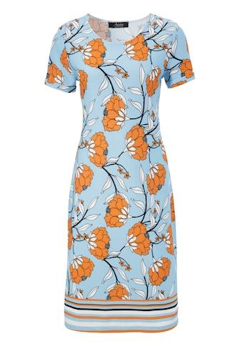 Aniston SELECTED Sommerkleid, mit gestreifter Bordüre kaufen