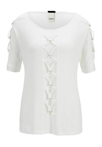 Shirt mit langem Halbarm kaufen