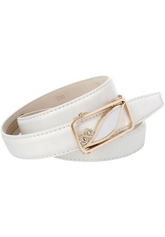 Anthoni Crown Ledergürtel, 2,5 cm schmaler Ledergürtel kaufen