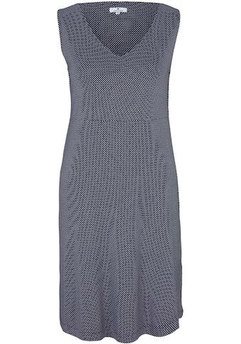 TOM TAILOR Jerseykleid, mit Pünktchen-Print kaufen