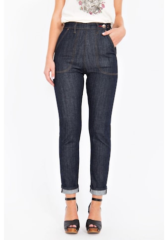 QueenKerosin Straight - Jeans »Red Selvedge« kaufen