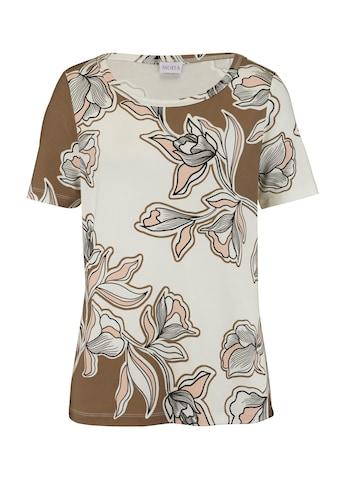 Mona Kurzarmshirt, mit Floral- Druck kaufen