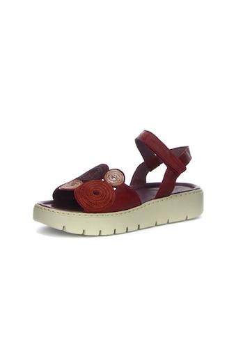 Think! Sandale »SING«, mit schönem Dekoelement kaufen
