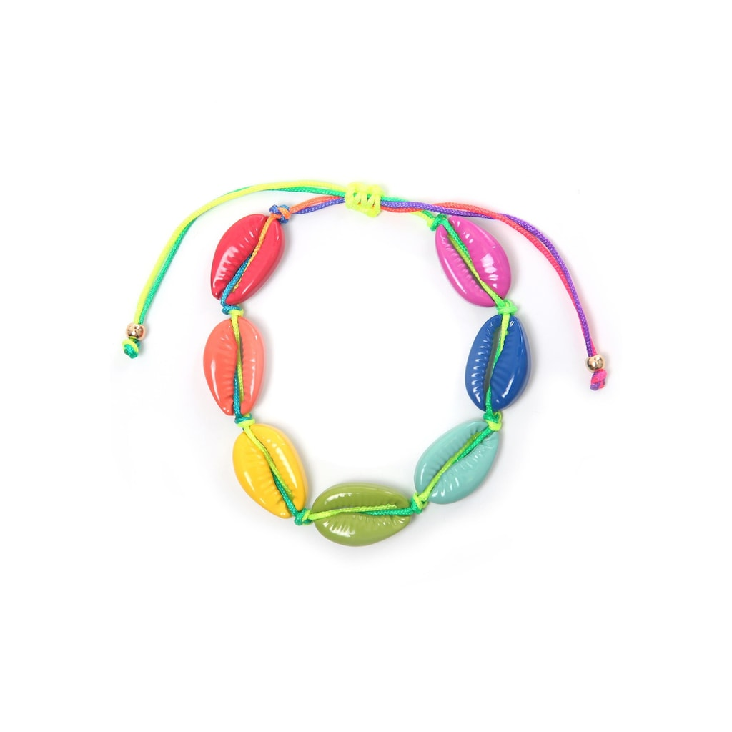 """COLLEZIONE ALESSANDRO Armband »Muschel, A2770A - F29«, mit Muscheln """"Sigay Shell"""""""