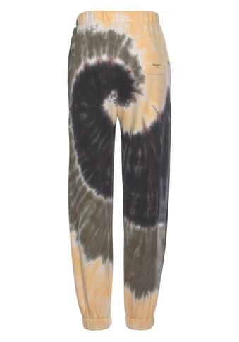 Pepe Jeans Jogger Pants »ATENEA«, in modischem Batikmuster, elastischem Saum, Kordel... kaufen