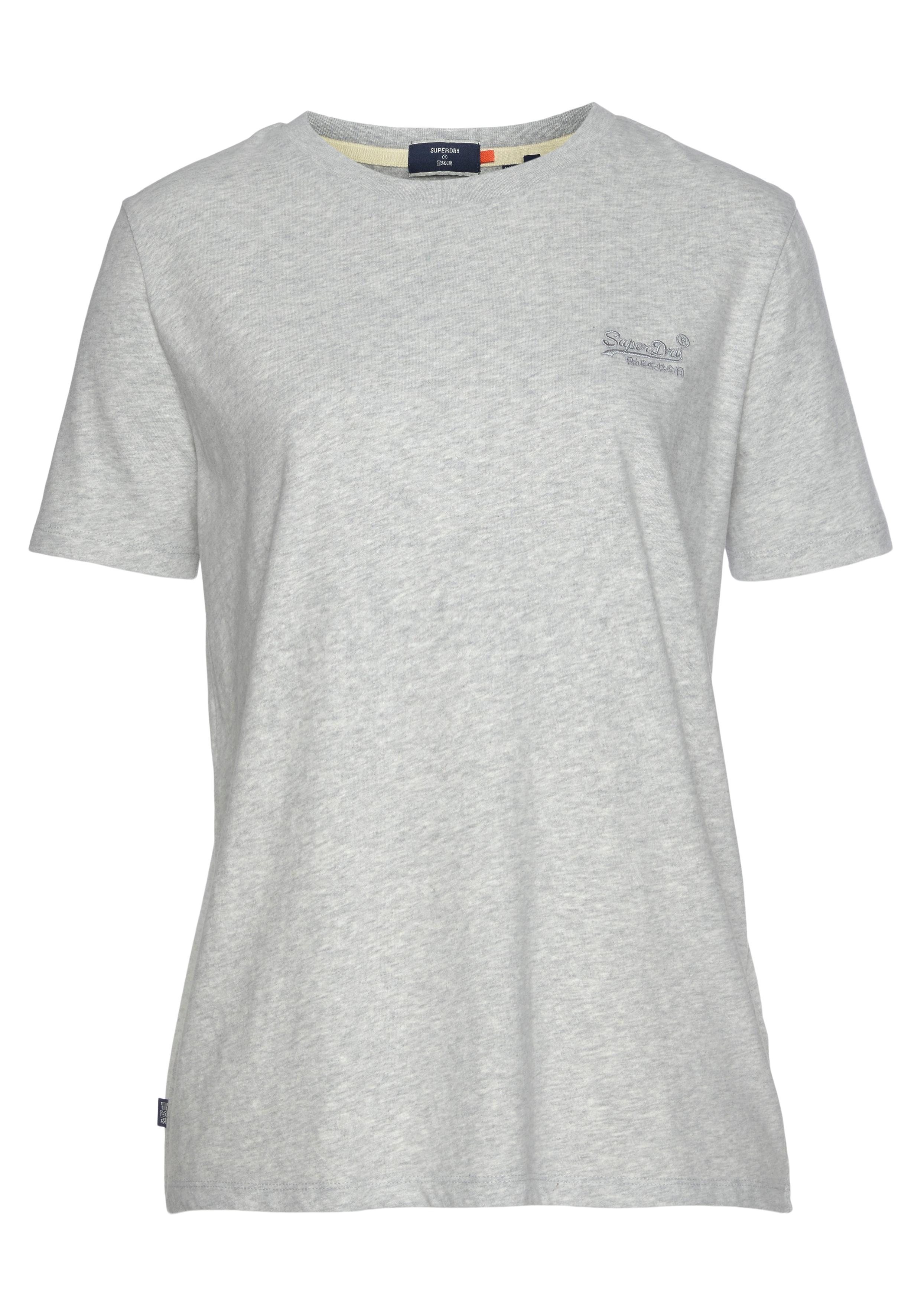 superdry -  T-Shirt ORANGE LABEL CLASSIC TEE, aus Bio-Baumwolle