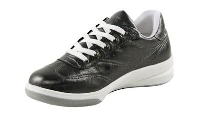 Sneaker mit Metallic - Effekt kaufen
