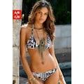 LASCANA Triangel-Bikini-Top »Kati«, mit Zierringen
