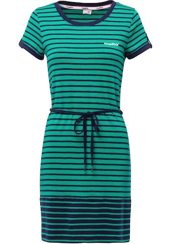 KangaROOS Sommerkleid, im maritimen Streifen-Design mit Gürtel kaufen