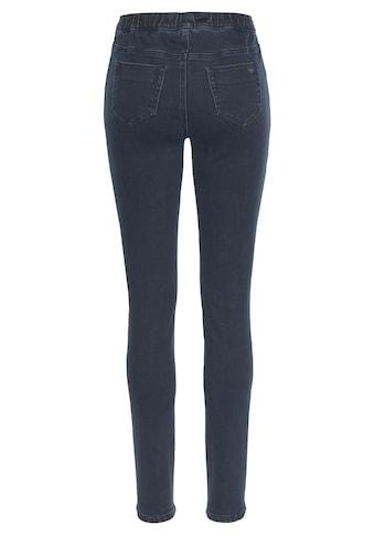 Arizona Jogg Pants »mit Thermo-Effekt«, in Denim-Optik kaufen