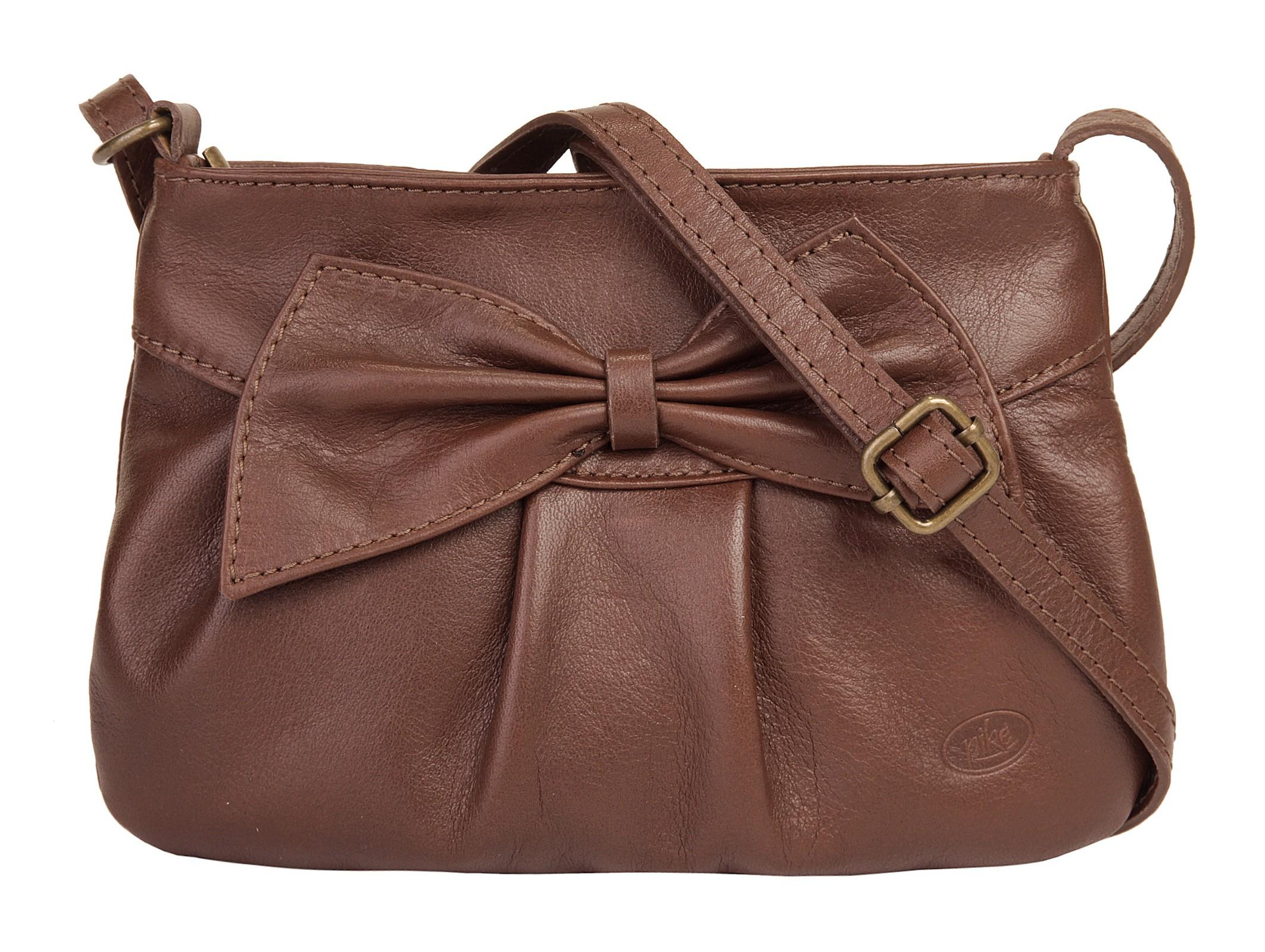 Piké Abendtasche | Taschen > Handtaschen > Abendtaschen | Braun | Leder - Echtleder | Piké