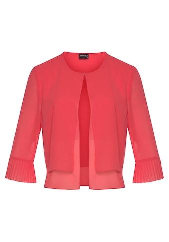 select! By Hermann Lange Kurzjacke, aus Chiffon, perfekt über ärmelosen Kleidern kaufen