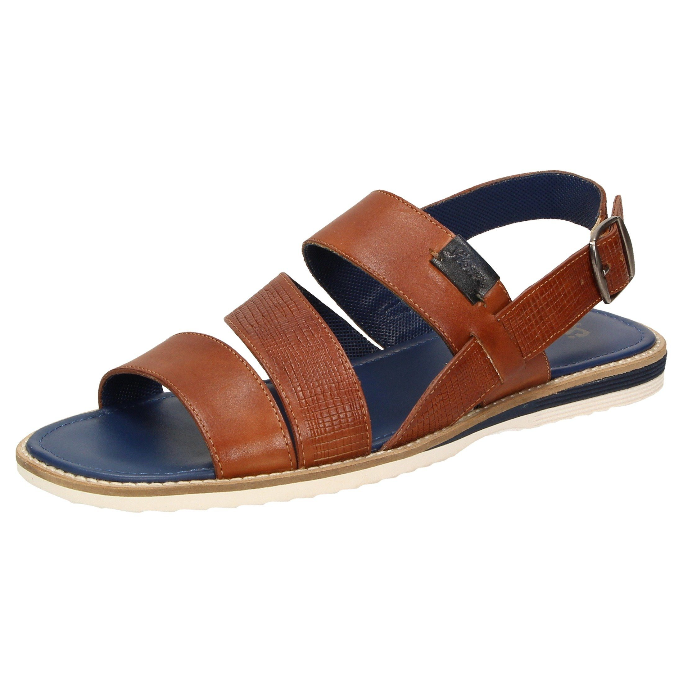SIOUX Sandale Milito-701 | Schuhe > Sandalen & Zehentrenner > Sandalen | Braun | Sioux