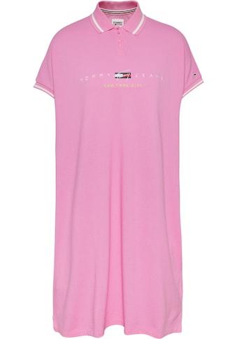 Tommy Jeans Jerseykleid »TJW MODERN LOGO POLO DRESS«, mit Tommy Jeans City... kaufen