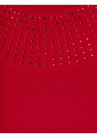 Mona Pullover dekoriertem Stehkragen kaufen