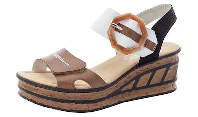 Rieker Sandalette, im modischen Look kaufen