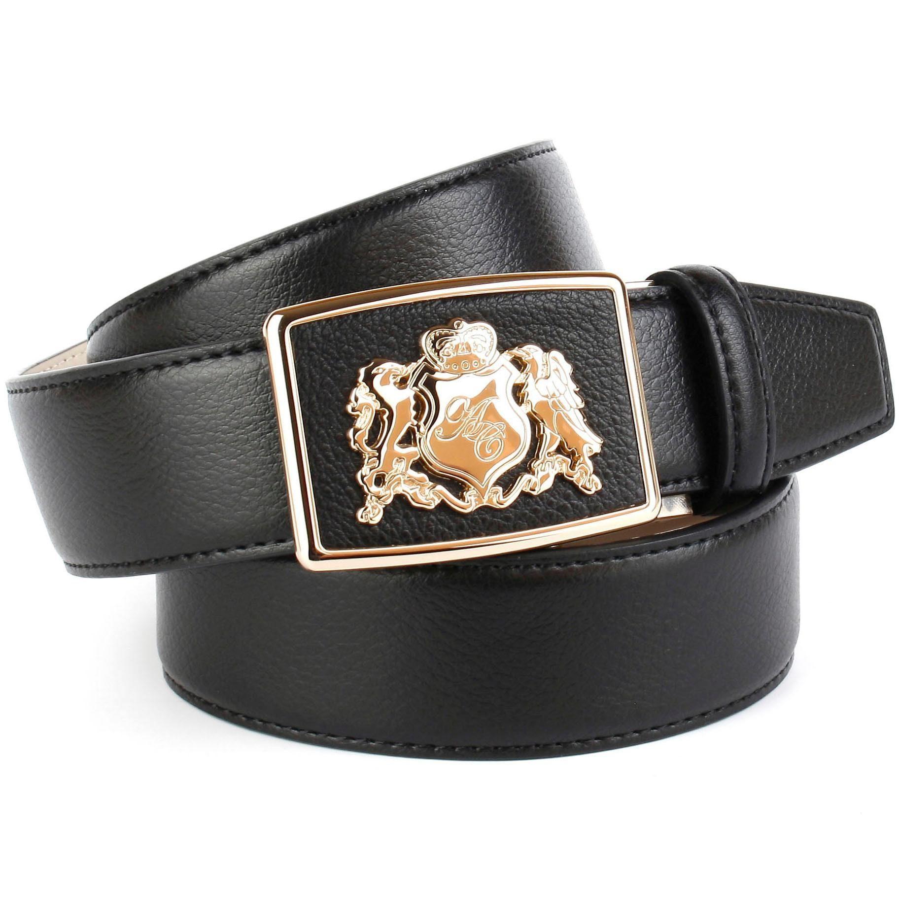 anthoni crown -  Ledergürtel