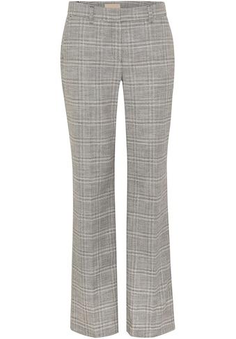 Mexx Stoffhose, mit Allover-Karo-Muster und langen Hosenbeinen kaufen