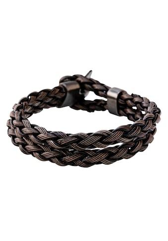 J.Jayz Armband »doppelreihig, aus 4 Strängen geflochten« kaufen