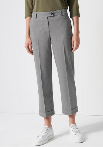 someday Bundfaltenhose »Celli minimal«, mit kleinem Karo-Muster kaufen
