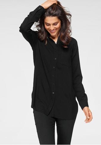 OTTO products Hemdbluse, nachhaltig aus weicher LENZING™ ECOVERO™ Viskose - NEUE... kaufen