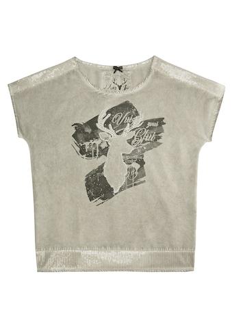 Marjo Trachtenshirt Damen mit funkelnden Pailletten kaufen