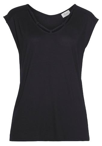 Boysen's T-Shirt, mit Zierband - NEUE KOLLEKTION kaufen