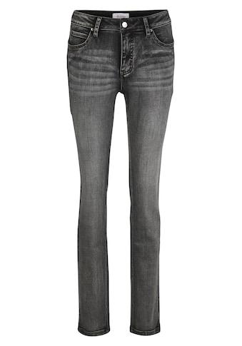 Push - up Jeans Aleria mit Kontrastnähten kaufen