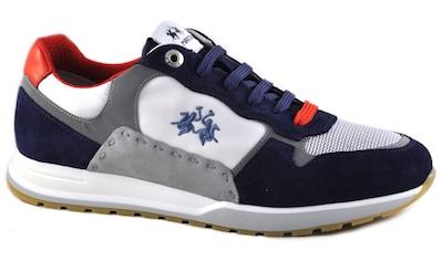La Martina Sneaker »Made in Italy«, in maritimer Farbkombi kaufen