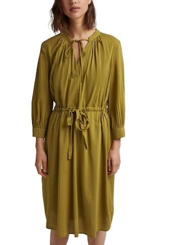 Esprit Collection Blusenkleid, mit Bindeband kaufen