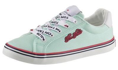 TOM TAILOR Sneaker, mit hübscher Logostickerei kaufen