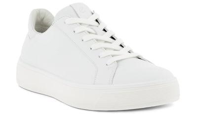 Ecco Plateausneaker »Street tray«, mit weißer Laufsohle kaufen