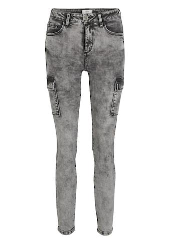 LINEA TESINI by Heine Skinny-fit-Jeans, Moonwashed-Effekt kaufen