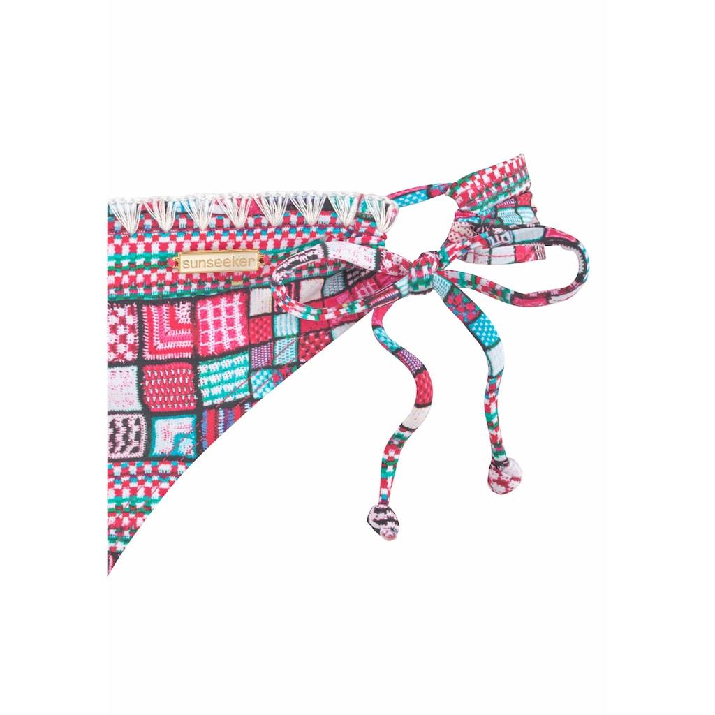 Sunseeker Bügel-Bikini, mit farbigem Print