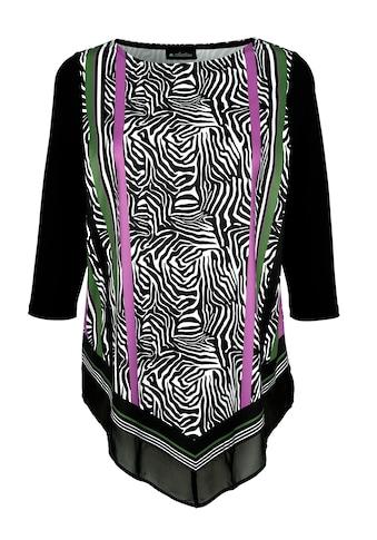 m. collection Zipfelshirt, mit Zebraprint kaufen