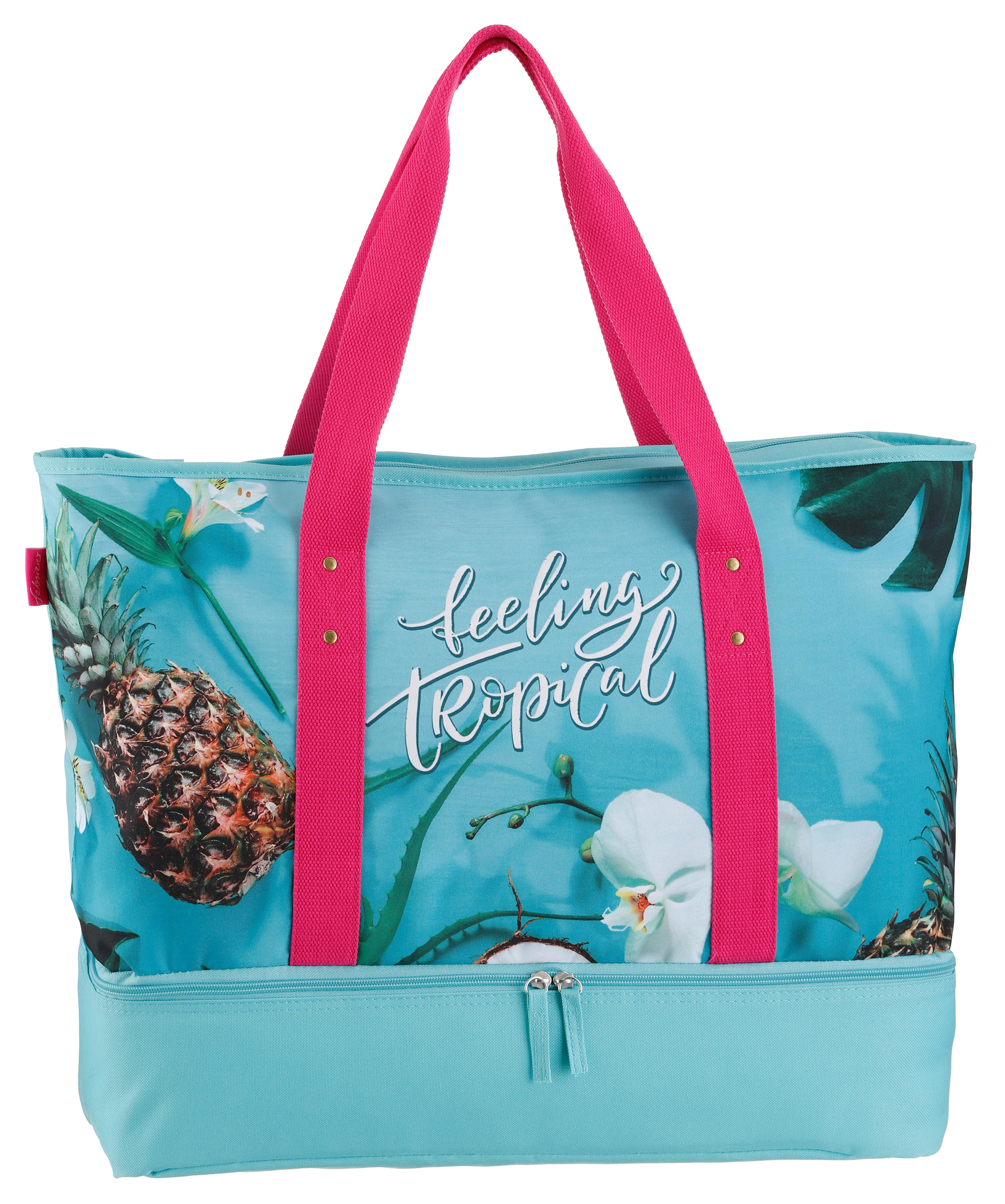 fabrizio -  Strandtasche, mit Kühltaschenfach